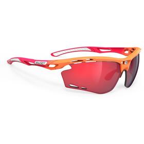 Rudy Project Propulse Glasses mandarin/fade coral matte/multilaser red